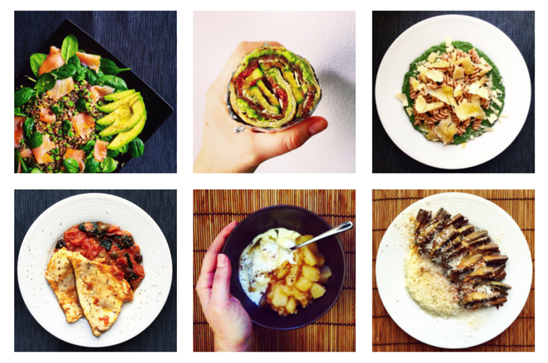 6 Healthy Meals on Instagram #2