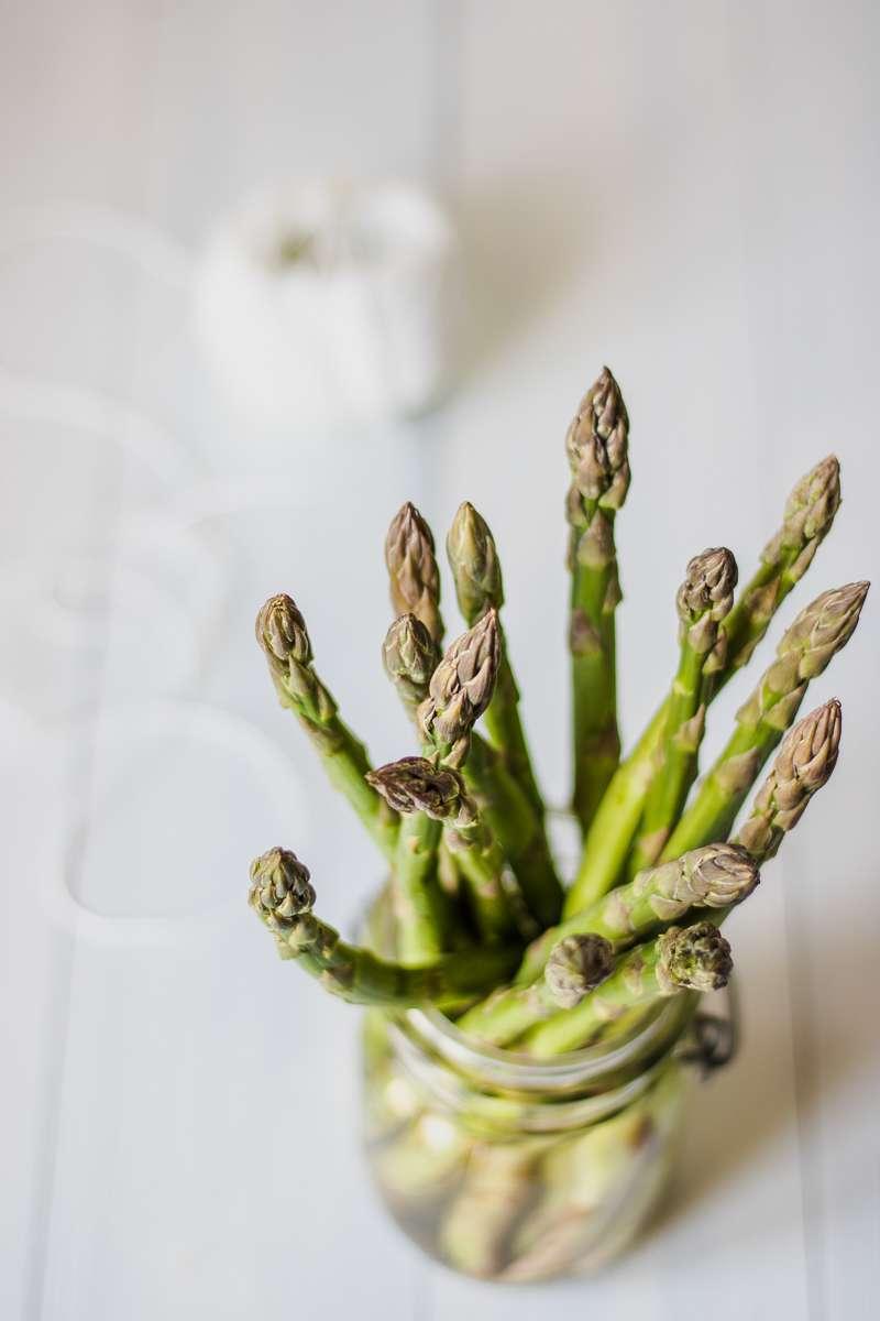 Orzotto agli asparagi mantecato al formaggio di capra