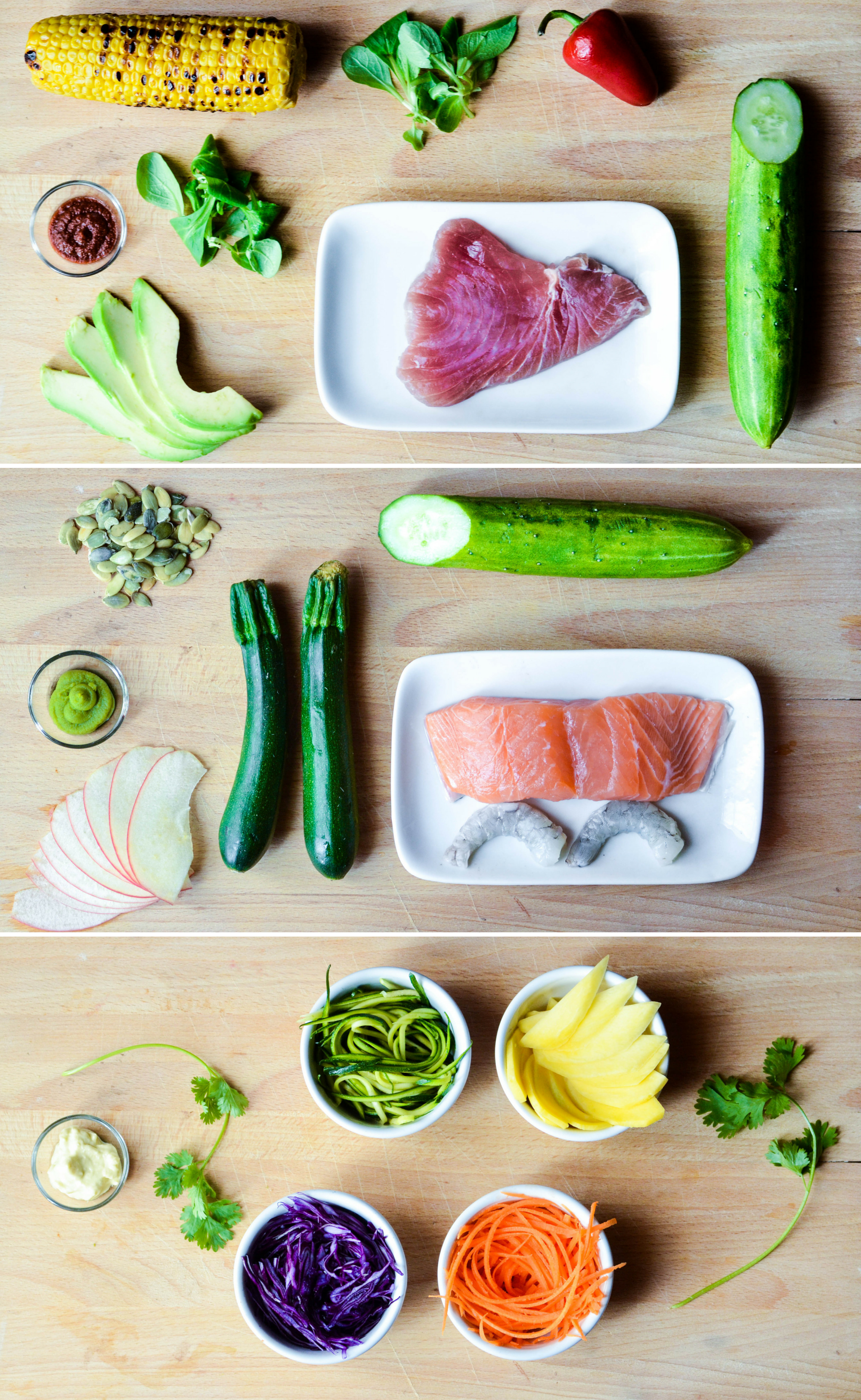 Sushirrito: ingredienti