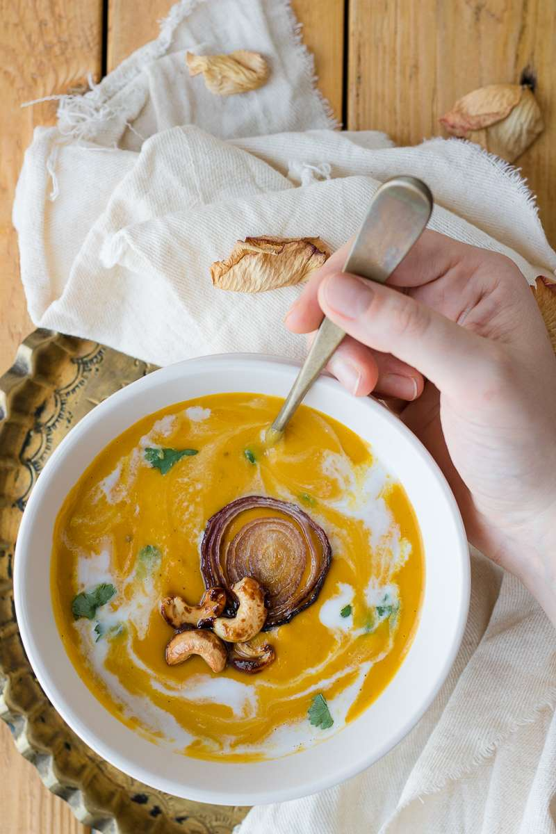 Zuppa di zucca Thai Style