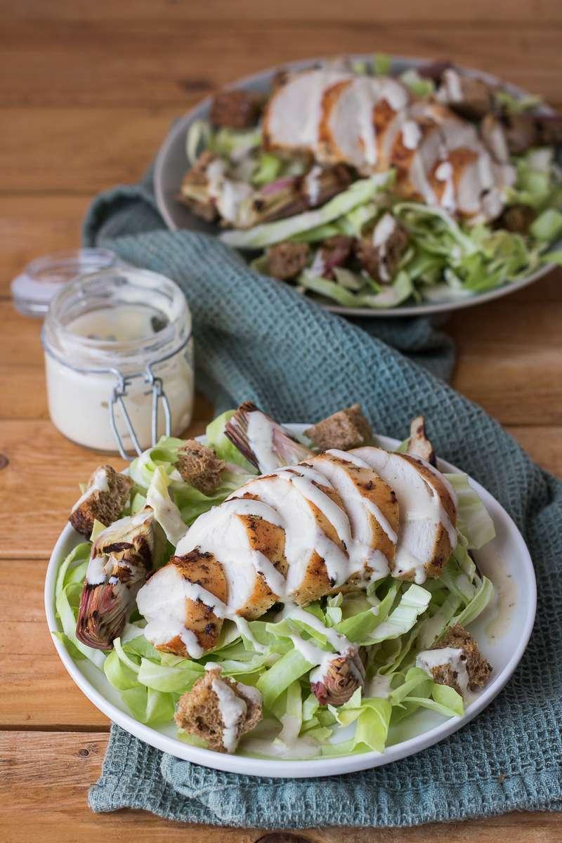 Caesar salad invernale