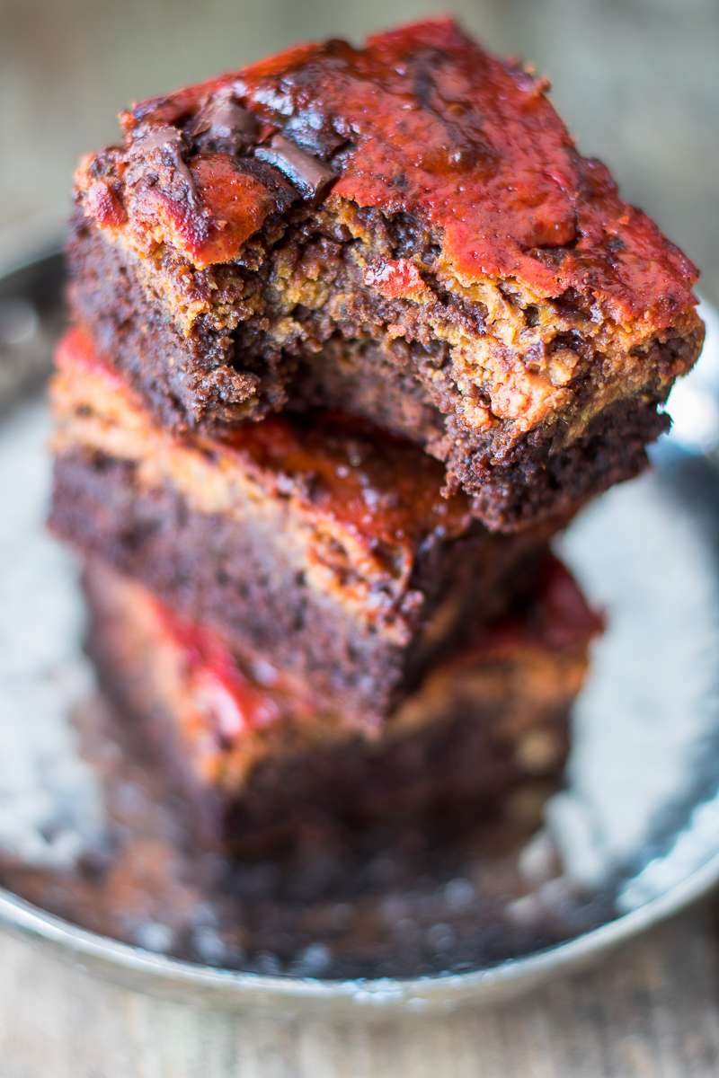 Red Velvet Brownies di San Valentino