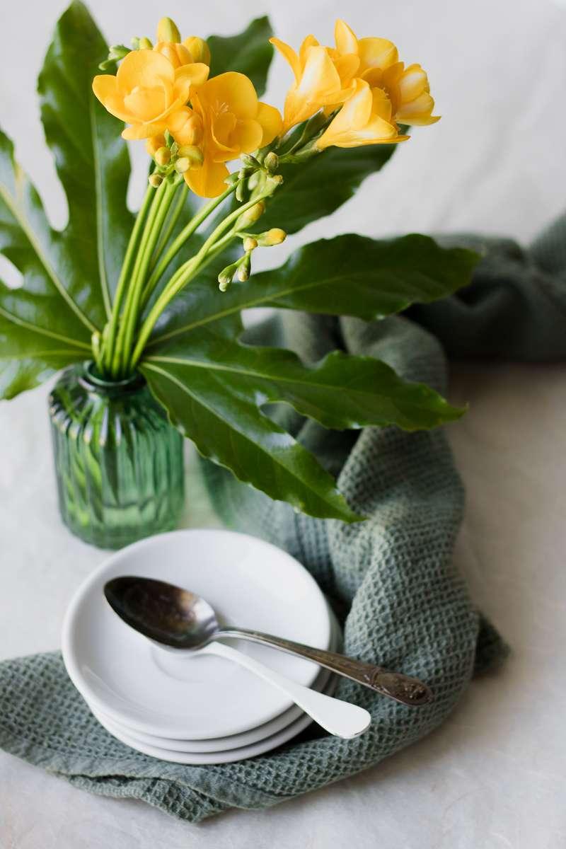 Aspettando la panna cotta: kumquat, fiori e frutto della passione